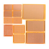 12pcs Electric Printed Circuit Prototype PCB Board Breadboard Stripboard DIY Copper Plate Kit Test Single Sided