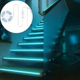 BlitzWolf® BW-LT11 2M RGBW ذكي التطبيق مراقبة Strip ضوء EU Plug Kit + 3PCS 1M LED Strip ضوء Extension Plus