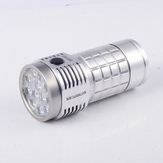 Fireflies ROT66 Generation II Polished Raw Aluminium SST20/ Nichia/ XPL HI  7000~10000Lumens + 45 degree TIR lens EDC LED Flashlight