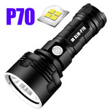P70 / L2 3الوضعs Super مشرق ضوء LED مصباح يدوي Outdoor يو اس بي Rechargeable ضد للماء Flashlight 26650 Flashlight