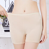Plus Size Cotton Seamless Panties