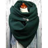 Solid Color Loose Causal Scarf Shawl