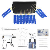 40Pcs Training Unlock Tool Skill Set 15-Piece Unlocking Lock Picks Set Key
