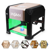 3000mW USB Laser Engraver Desktop DIY Logo Mark Printer Mesin Ukiran Laser Carver