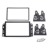 Double Din Car Radio Fascias Dash Sail Stereo Panel Trim Frame For Chevrolet