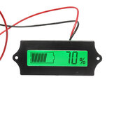 GY-6A 12V 24V 36V 48V Lead Acid Battery 2-15S Lithium Battery Capacity Tester Indicator Digital Voltmeter