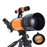 IPRee® 150X HD Astronomic Telescope Space Refractor Adjustable Tripod Lens Covers Night Version Telescope Outdoor Camping Telescope