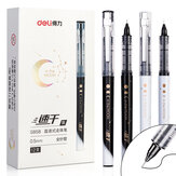 XM Ecosystem Deli S858 1 Piece Full Needle Gel Pen 0.5mm Nib Writing Signing Pens Office School Supplies