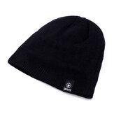 Gebreide muts Outdoor wollen gebreide mode casual hoed