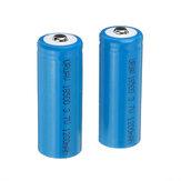 2個URUAV 3.7V 1200mAh 1S 18500 Li-ion Battery for Frsky Taranis X-Lite Radio Transmitter