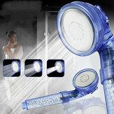3 modos de jato ajustável economizando água Banheiro cabeça de chuveiro de água de alta pressão
