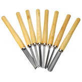 8Pcs Wood Carving Tool Set Craft DIY Woodworking Handwork Hand Chisel Kit