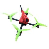 NomeMenosRC & Kabafpv PowerStick 110mm 3-4S FPV Racing RC Drone Runcam Motor Nano2 Amax AIO412T