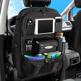 Back Seat Organizer Tray Box Car Hanging Storage Bags Table with 4 USB Port