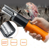 ZANLURE 12V 2000mAh Electric Fish Skin Scaler Descaler Scale Scraper Knife-GD Fishing Tool