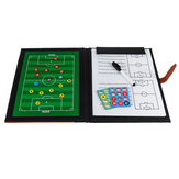 Football Training Supplies Football Coaching Teaching Tactical PU Leather Board