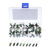 100pcs 100uF 10V-47uF 63V HiFi DIY High Grade Audio Electrolytic Capacitor Kit