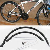 Składany błotnik przedni i tylny rower 20 '' Stałe błotniki rowerowe Błotnik