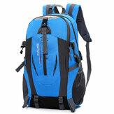 Очень большой Nylon рюкзак с USB-портом Путешествия Туризм Кемпинг Водонепроницаемы мотоцикл езда на велосипеде Сумка
