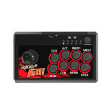 DOBE TNS-19059 Arcade Fighting Joystick Game Controller for Nintendo Switch PS3 PC Android Mobile Phone Tablets