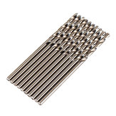 JIMI Upgrade 10Pcs 2mm Twist Drill Bit HSS-CO Stainless Steel Cobalt Metal For Bosch Dremel Rotary Tool