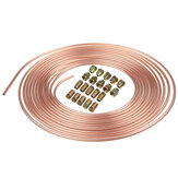 Roll Copper Steel 25 ft. 3/16