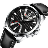 CURREN 8379 Casual Style Luminous Display Men Jam Tangan