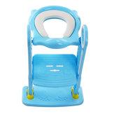 Składane siedzisko dla niemowląt Nocnik dla niemowląt z regulowaną drabinką Przenośne foteliki dla dzieci z nocnikiem na pisuar