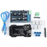لوحة التحكم الرئيسية المستنسخة RE-ARM 32Bit Upgrated + TMC2218 V1.2 + Ramps1.5 طقم لوحات للطابعة ثلاثية الأبعاد Ramps 1.4 1.5 1.6