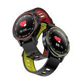 Bakeey L8 Full Touch Screen ECG + PPG O2 IP68 Modalità sport Bluetooth Controllo musica Meteo Smart Watch