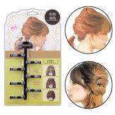 Оплетка для волос Twist Styling Набор Повязки для волос Bun Maker Пластиковые