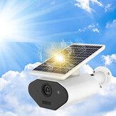 الطاقة الشمسية القوة & البطارية القوة ضد للماء بدون أسلاك 1080P منخفضة القوة IP الة تصوير IR رؤية ليلية ثنائية الاتجاه صوت WiFi الة تصوير