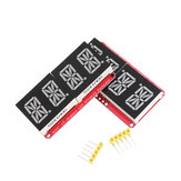 4-bit Pozidriv 0.54 Inch 14-segment LED Digital Tube Module Red / Green I2C Control 2-line Control LED Display Screen Module