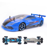 ZD Racing Pirates3 TC-10 1/10 2.4G 4WD 60km / h RC Car Electric Brushless Tourning Vehicles RTR نموذج