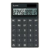 NUSIGN NS041 Desktop Calculator Large LCD Screen 12-digit Calculator Solar/Battery Dual Powered for Business Finance Office School from XM