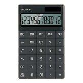 NUSIGN NS041 Настольный калькулятор Большой экран LCD 12-значный калькулятор Солнечная/Батарея Двойное питание для бизнеса Финансовый офис Школа