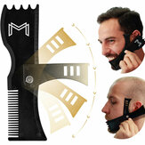 Adjustable Beard Shaping Tool Trimming Shaper Template Comb