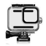 45M Camera Waterproof Case Cover Protector For Gopro Hero 8 Camera 9H Tempered Glass