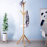 Drewniany wieszak na ubrania Stojak na ubrania Wieszak na drzewo Kapelusz w stylu vintage Kurtka Torba Uchwyt na parasol Stojak na ubrania
