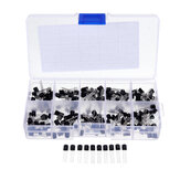 200pcs 10 Values 20 Each TO-92 Transistor Assortment Assorted Kit BC327 BC337 BC517 BC547 BC548 BC549 BC550 BC556 BC557 BC558