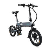 [AB Doğrudan] FIIDO D2 36 V 250 W 7.8Ah 16 Inç Katlanır Moped Bisiklet 25 km / saat Max 50 KM Kilometre Elektrikli Bisiklet