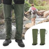 Copriscarpe impermeabili da esterno per protezioni per le gambe Anti Proteggi piedi per ghette a serpente morso campeggio Arrampicata per escursionismo