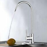 1/4 Pollici Rubinetto per filtro acqua potabile RO con finitura cromata Lavello per osmosi inversa Cucina