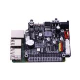 Плата расширения Yahboom Raspberry Pi для визуального робота AI GPIO Voice Broadcast Мотор Привод Многофункциональная плата расширения драйверов