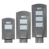 30W 60W 90W LED Luz de rua solar Indução do corpo humano + Modo de pouca luz Luz branca