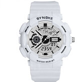 SYNOKE 9015 Double Display Movement Luminous Men Watch