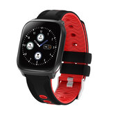 Bakeey F12 1.3inch Full Touch Screen 3D Dymanic UI Heart Rate Blood Pressure Monitor Music Control Weather Push Smart Watch
