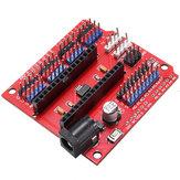 10 יחידות Funduino מרובה פונקציות Nano מגן Nano לוח התרחבות חיישן Geekcreit עבור Arduino - מוצרים העובדים עם לוחות Arduino הרשמיים