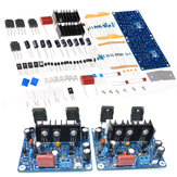 2pcs HiFi MX50 SE 2.0 Dual Channel 2x100W Stereo Power Amplifier DIY Kit Board