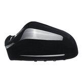 Esquerda / direita espelho retrovisor do carro tampa da tampa cap preto para opel vauxhall astra mk5 2010-2013